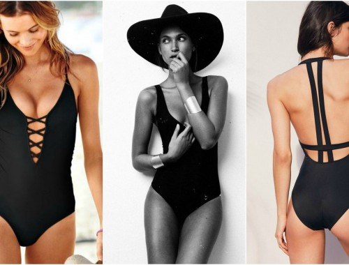BLACK-SWIMSUIT-NUOVO-TREND-DELL'ESTATE